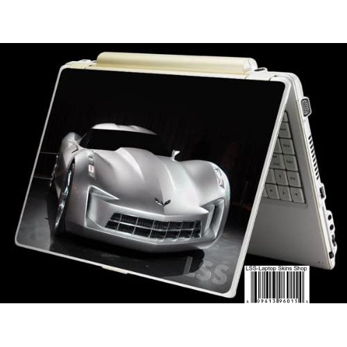 Laptop Skin Shop Laptop Notebook Skin Sticker Cover Art Decal Fits 13.3 14 15.6 16 HP Dell Lenovo Asus Compaq (Free 2 Wrist Pad Included) Cadillac Car