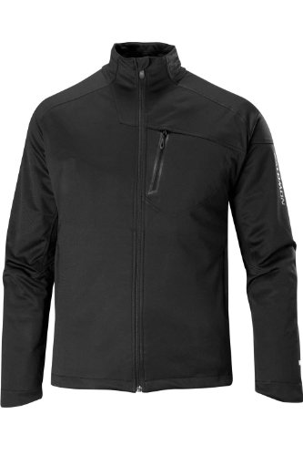 Salomon Quest Smartskin Windstopper Men's Jacket - Black/Black, Medium