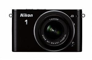 Nikon 1 J3 14.2 MP HD Digital Camera with 10-30mm VR 1 NIKKOR Lens (Black)
