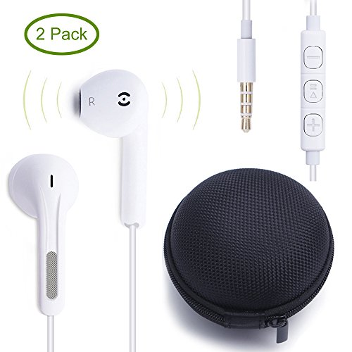 ankodar-2pack-premium-earphones-headphones-earbuds-with-stereo-micremote-control-for-apple-iphone-6s