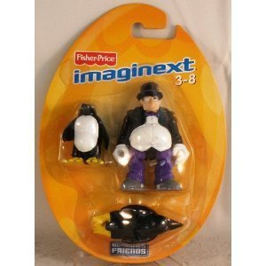 Imaginext DC Super Friends The Penguin Mini Figure Exclusive - 1