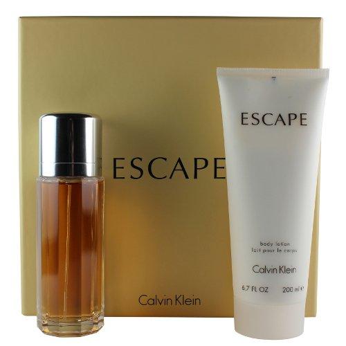 [Bella Bella Boutique] Escapé Women Gift Set 3.4 oz Eau De Parfum Spray + 6.7 oz Body Lotion