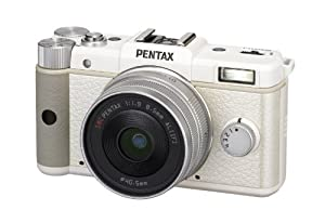 Pentax Q 12.4 MP CMOS Sensor Kit with 8.5mm 1.9 AL [IF] Prime Lens(White)