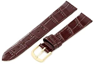 Hadley-Roma Women's LSL119RB 160 Genuine Leather Strap Watchband