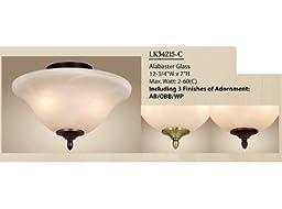 Vaxcel LK34215-C Fan Light Kit