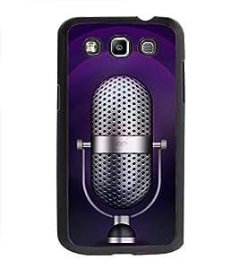 Printvisa Ultra Music Mic 2D Hard Polycarbonate Designer Back Case Cover for Samsung Galaxy Q...