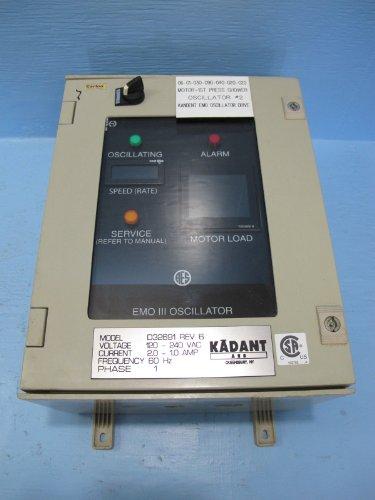Kadant Aes Emo Iii Shower Oscillator Drive Controller D32691 Aes Operator B34613