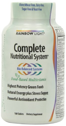 Rainbow Light Complete Nutritional System  Food Based  Tablets  180 tablets