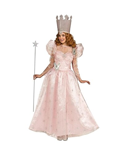 Wizard of Oz Movie Glinda Good Witch Womens Halloween Costume deluxe