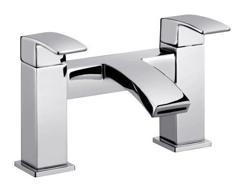 Elita Chrome Deck Mounted Bath Filler Tap Picture