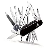 Victorinox Swiss Army Swiss Champ Pocket Knife (Black)