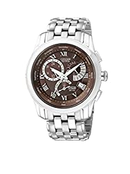 Citizen Analogue Brown Dial Mens Watch -BL8100-50W
