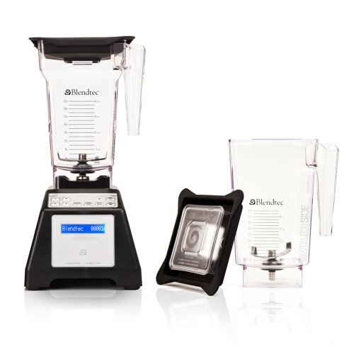 Blendtec Home Blender HP3A,  WildSide / FourSide Jars - Black