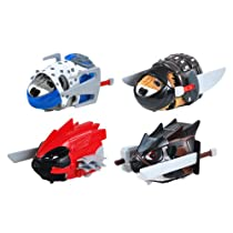 Kung Zhu Ninja Warrior Battle Armor Set of 4