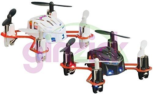 Ginzick 4 Channel Rc Remote Control Micro Tiny Quadcopter Colors Vary (Proto X Nano Type)