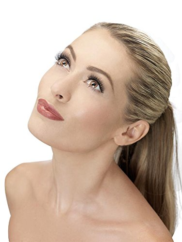 Fever Women's Eyelashes, Black/Natural Lengthen, One Size - 1