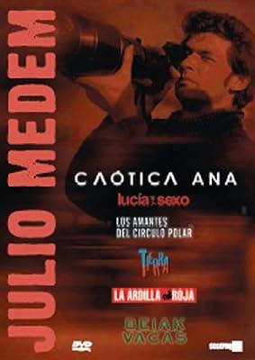 Julio Medem 6-DVD Box Set ( Vacas / La Ardilla roja / Tierra / Los Amantes del Círculo Polar / Lucía y el sexo / Caótica Ana ) ( Cows / The Red Squirrel / The Land / The Lovers of [ NON-USA FORMAT, PAL, Reg.2 Import - Spain ]