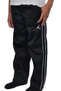 Jordan Nike Boys' (2-7) Jumpman Track Warm up Pants (5, Black/Grey)