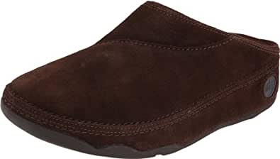 FitFlop Women's Gogh Clog,Chocolate,5 M US