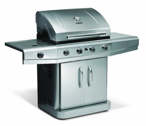 Char-Broil N480 4-Burner Gas Grill, with Side Burner