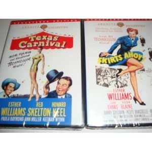 Texas Carnival and Skirts Ahoy - Esther Williams Movie 2-Pack <Technicolor> <Remastered Edition > <DVD-R> Esther Williams, Howard Keel, Ann Miller