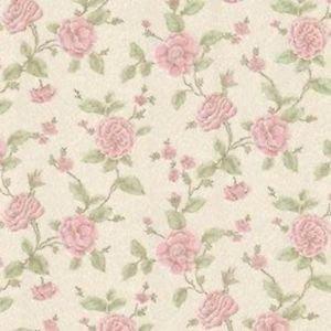 FD20821 - Brocade Devon Floral Trail Dark Pink