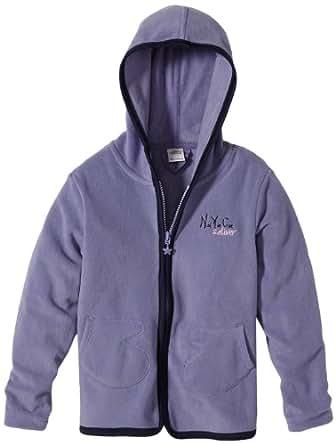 s.Oliver Tops à capuche À capuche Manches longues Fille - Violet - Violett (4813) - FR : 8 ans (Taille fabricant : 128/134)