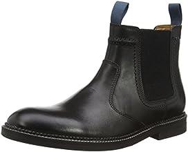[クラークス] CLARKS ブッシュウィックハイ 26110758 Black Leather(ブラックレザー/080)