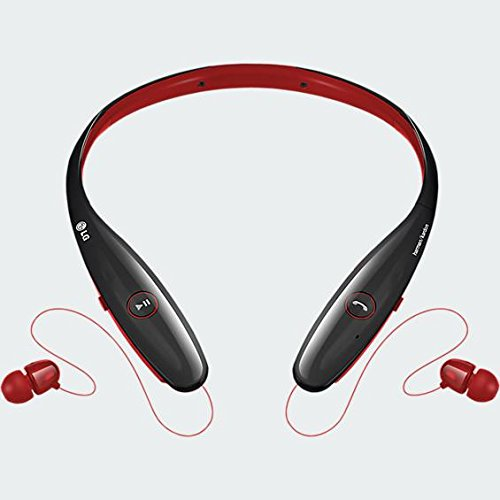Click to buy LG Electronics TONE HBS-900 INFINIM Bluetooth Stereo Headset - Red Black (Certified Refurbished) - From only $64.99