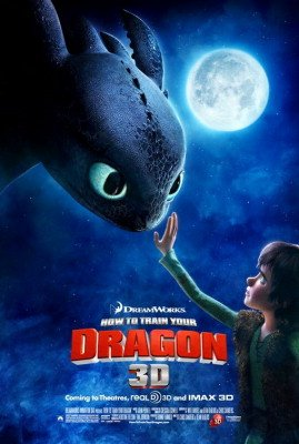 How To Train Your Dragon Regular Movie Poster Double Sided Original 27x40