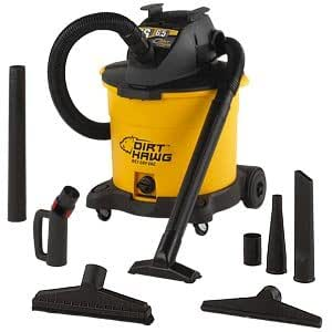 Dirt Hawg 16-gallon Wet/Dry Vac With Detachable Blower
