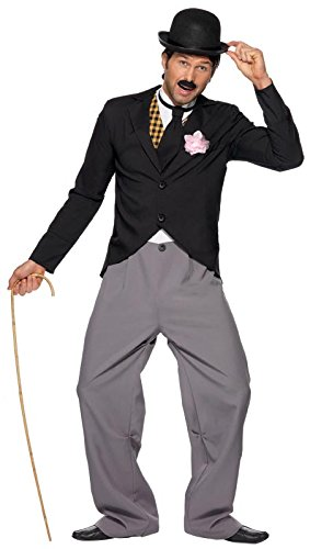 Smiffy's Men's 1920's Star Costume with Jacket Trousers Mock Waistcoat and Tie