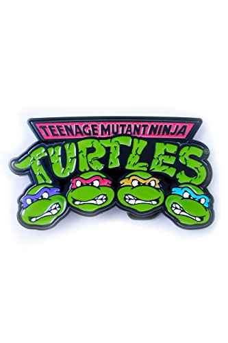 Teenage Mutant Ninja Turtles, 4 tartarughe Faces fibbia con cintura