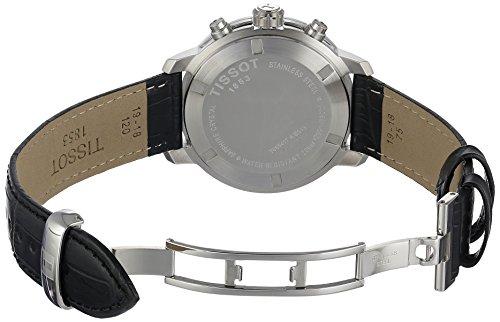 Tissot Men S T055 417 16 038 00 Prc 200 Silver Dial