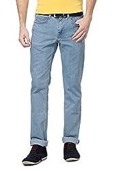 Van Heusen Men Slim Fit Pants_VDDN515D07891_30_Blue