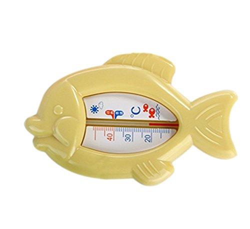 JUNGEN 1X Baby Termometro da Bagno, Digitale termometro da bagno in vari colori disponibili giallo