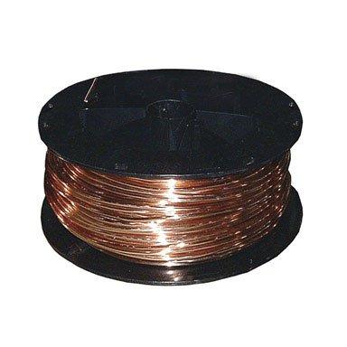 Southwire 10650002 125 ft. 2 Solid Bare Copper Wire, 2 Guage (Tamaño: 2 Guage)