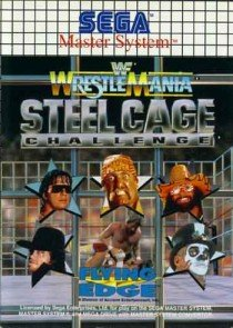 WWF Wrestle Mania - Steel Cage Challenge - Master System - PAL