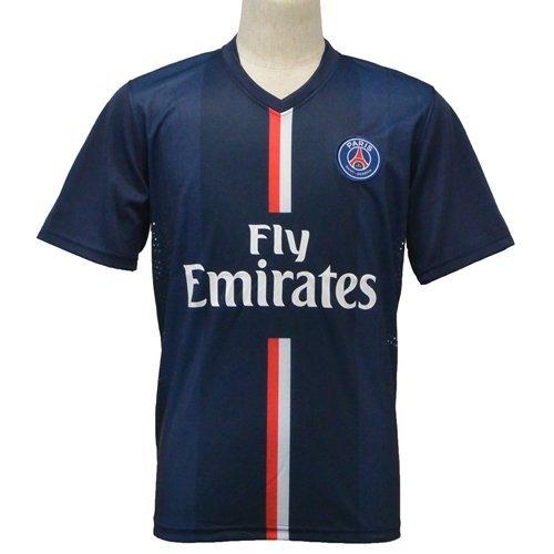 Paris Saint-Germain F.C.Short Sleeves Home Soccer Jersey 2014
