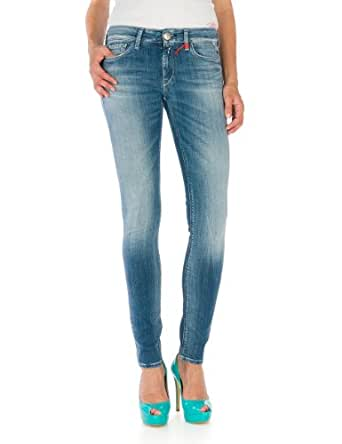 Replay Women's Skinny / Slim Fit Jeans  - Blue - Blau (10) - 32W/34L