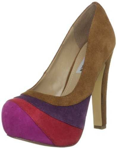Steve Madden Women's P-Trizie Sm Tan Platform Heels 3 UK