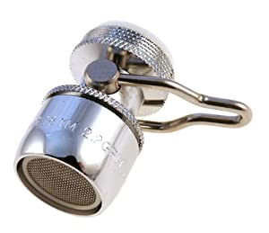 Kitchen Faucet Aerator On/Off / Water Saving Tap Saver Deluxe 2.2 gpm
