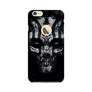Ebby Creep Smokey Skull Premium Printed Case For Apple iPhone 6/6s with hole