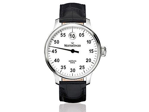 MeisterSinger reloj hombres automática Salthora Meta SAM901