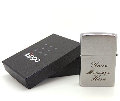 personalised-engraved-zippo-brushed-chrome-200-bold-black-lettering