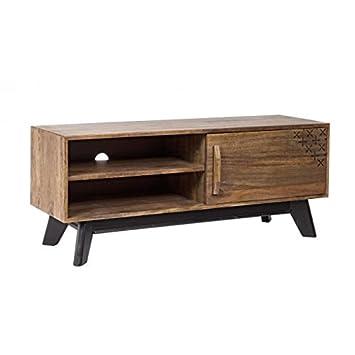Mueble tv madera de mango , colección alejandria