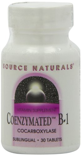 Source Naturals Coenzymated B-1, 25Mg, 30 Tablets