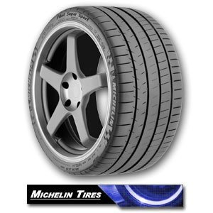 Michelin Pilot Super Sport Tire - 255/40R18 99ZR 