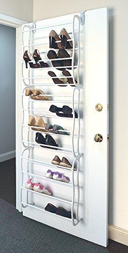 36 Pair Over the Door Shoe Rack with 12 Shelves