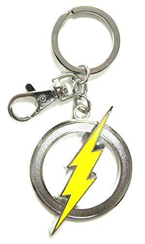 DC Comics The Flash Cut Out Logo Portachiavi